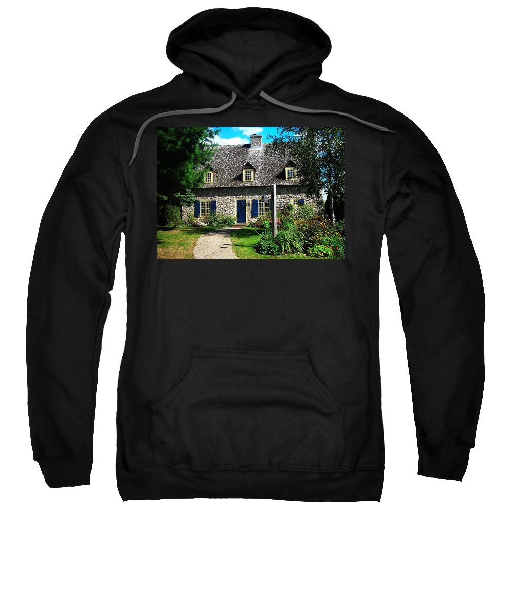 North America Sweatshirt featuring the photograph Beautiful Home ... by Juergen Weiss