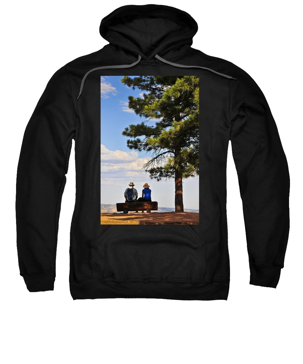 Behold Sweatshirt featuring the photograph Behold 2 by Skip Hunt