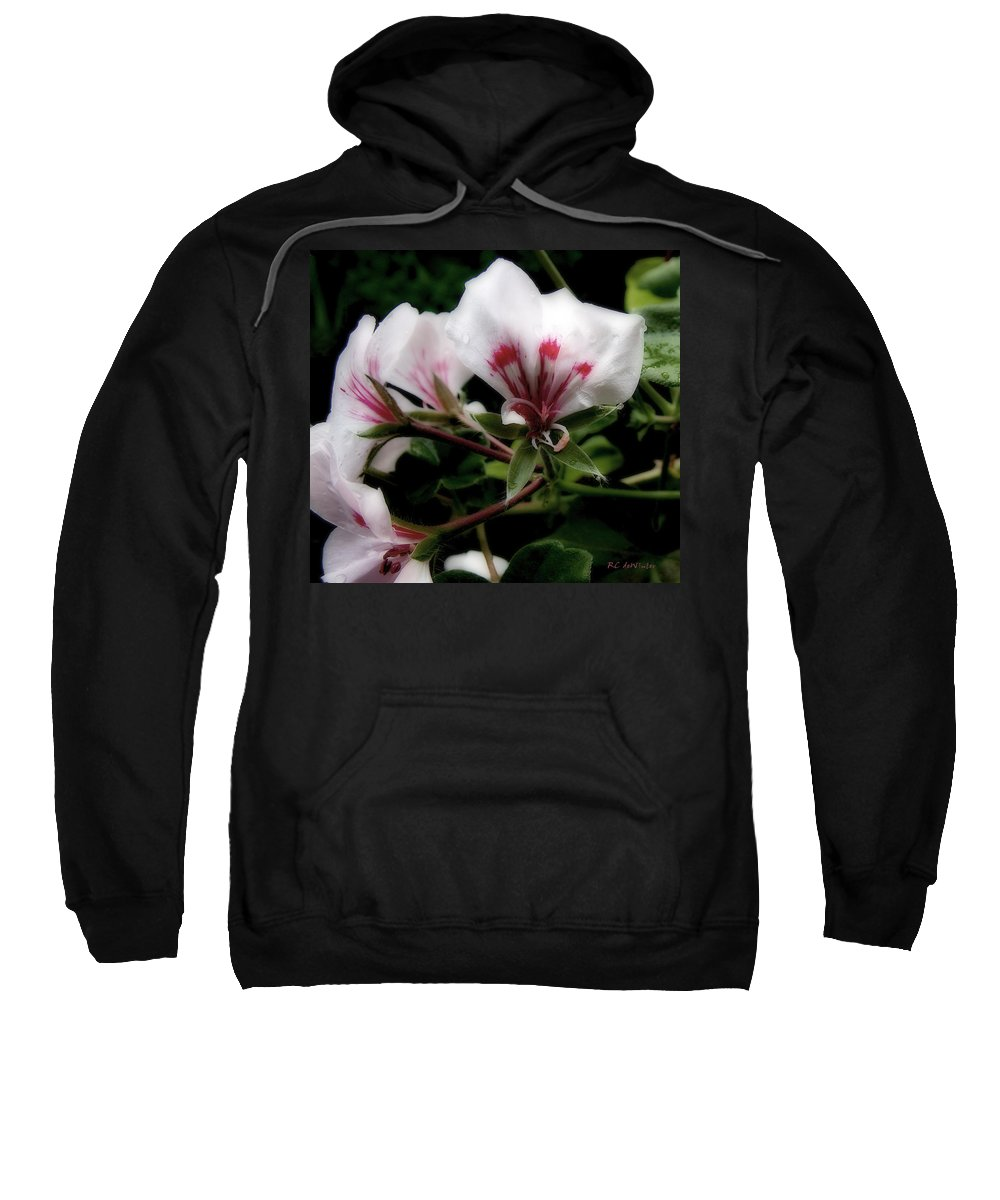 Cherry Sweatshirt featuring the photograph Bejewelled by RC DeWinter