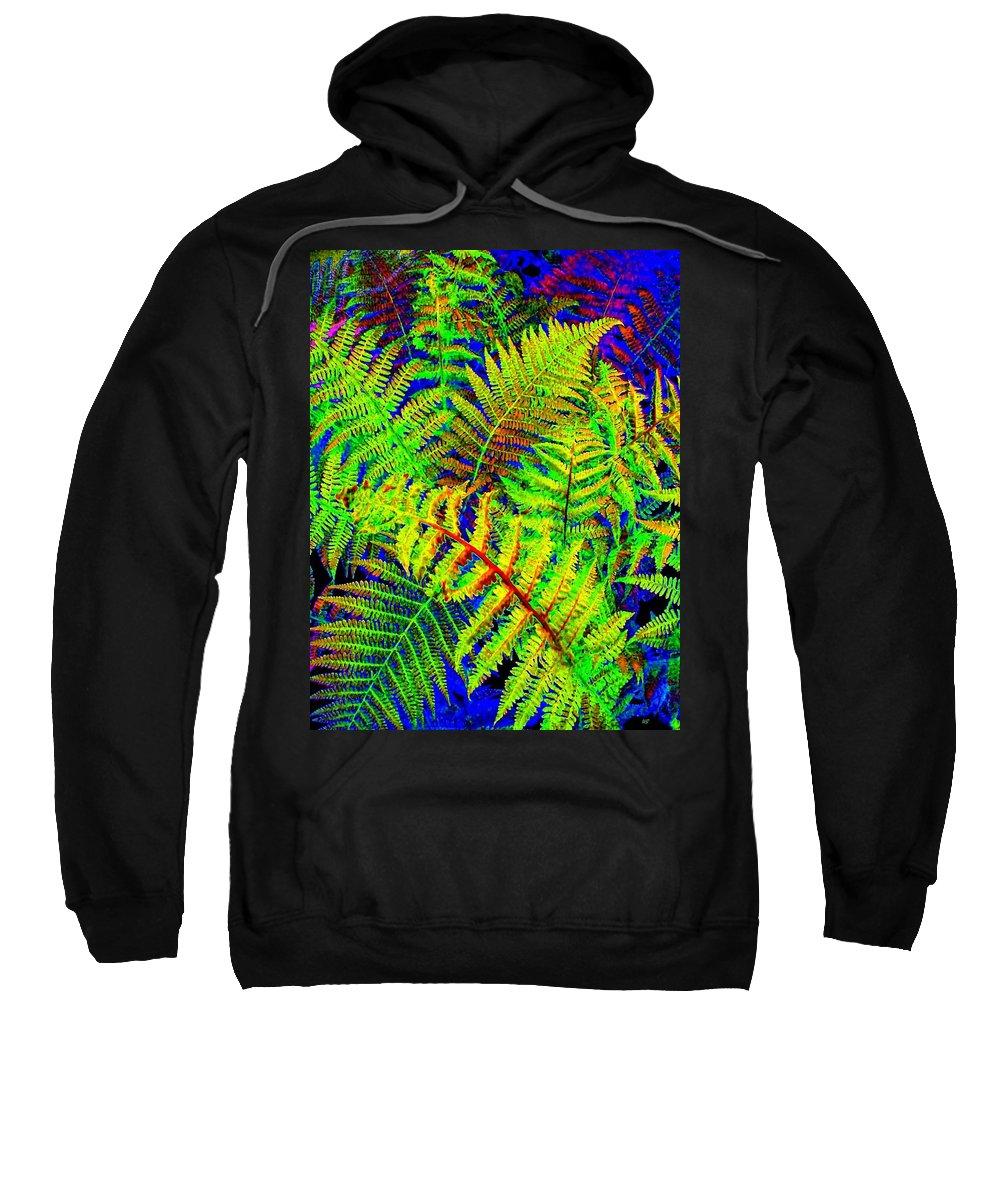 Bella Flora Sweatshirt featuring the digital art Bella Flora by Will Borden