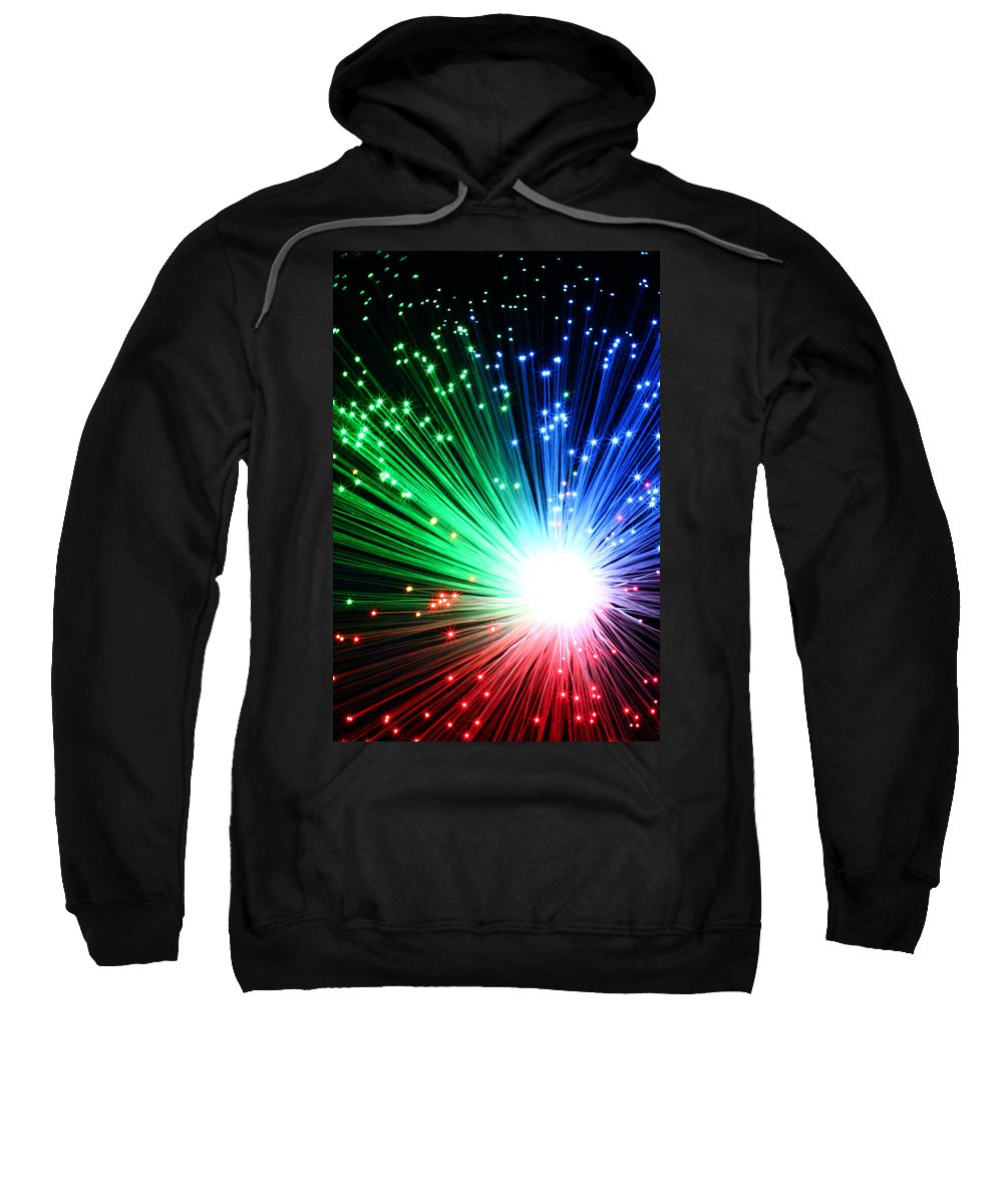 Blast Sweatshirt featuring the photograph Big Boom II by Daniel Csoka