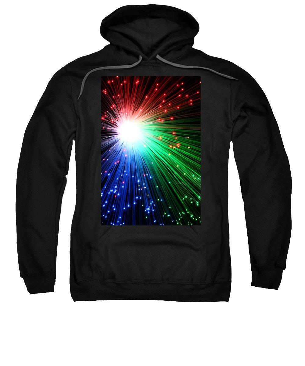 Blast Sweatshirt featuring the photograph Big Boom IIi by Daniel Csoka