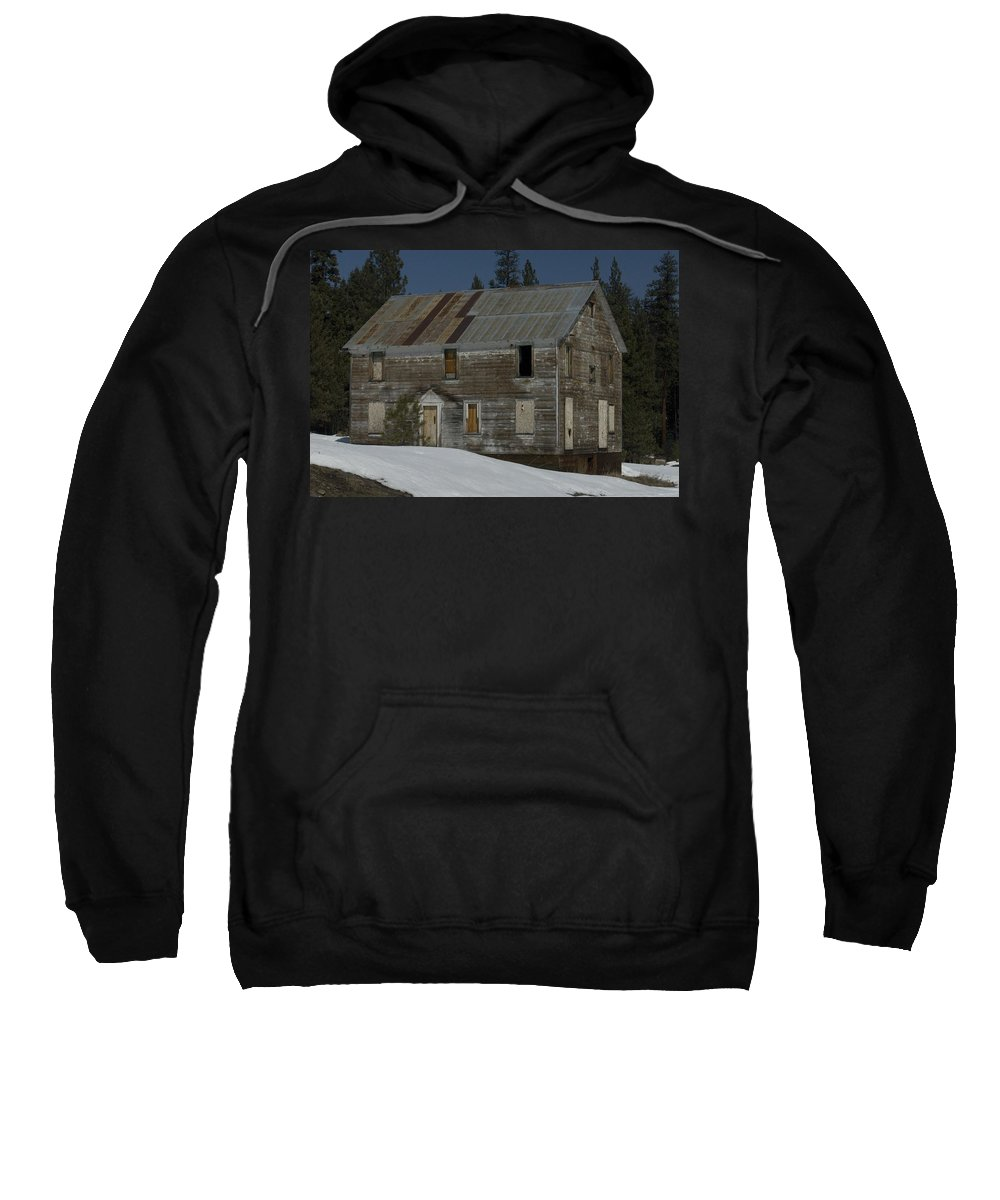 Old Sweatshirt featuring the photograph Big Old House by Sara Stevenson