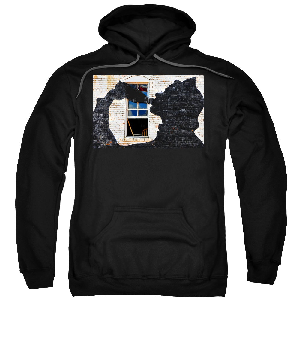 Photography Sweatshirt featuring the photograph Black Betty by Skip Hunt