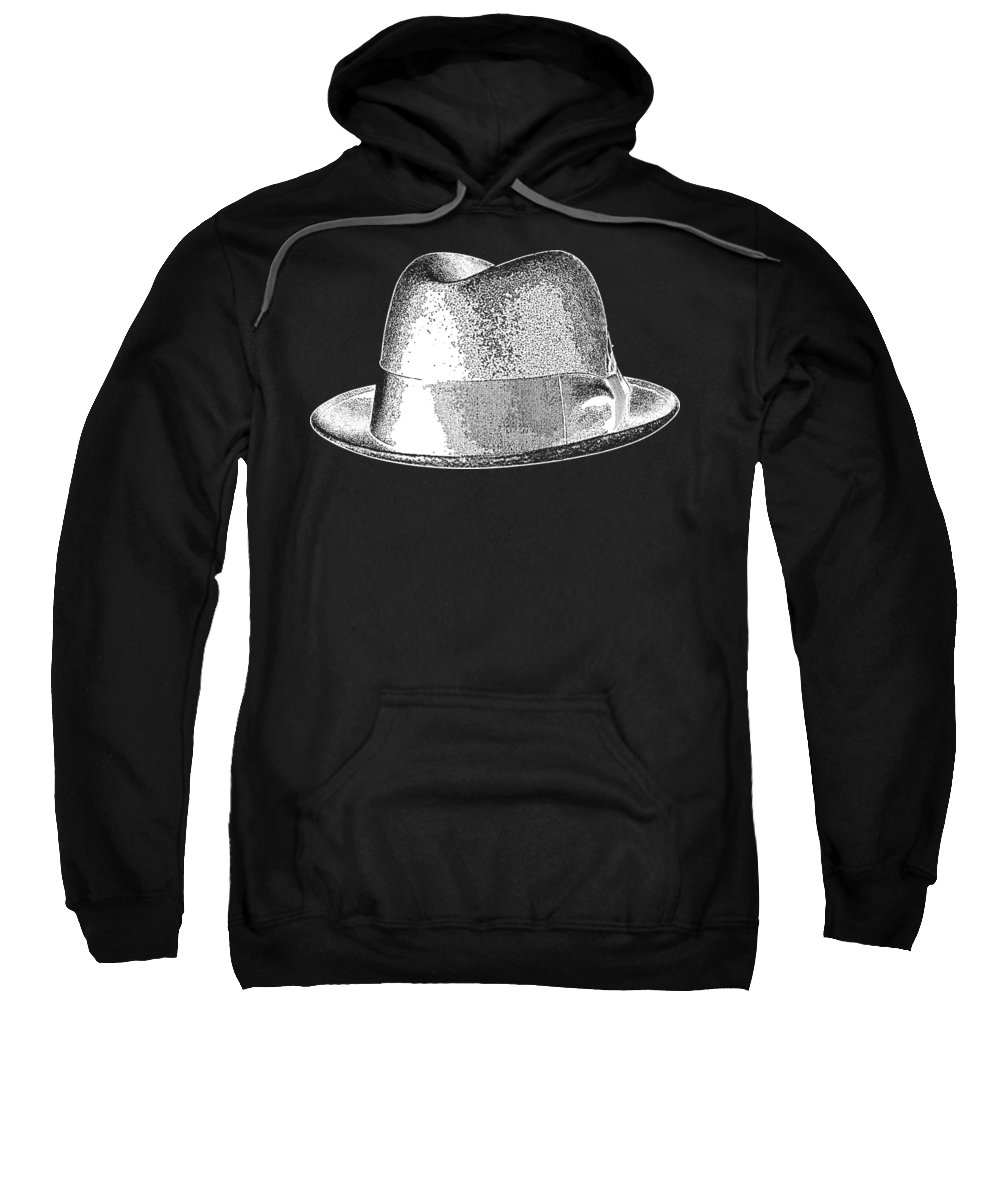 b38c6af9b Breaking Bad Sweatshirt featuring the drawing Black Hat T-shirt White by  Edward Fielding
