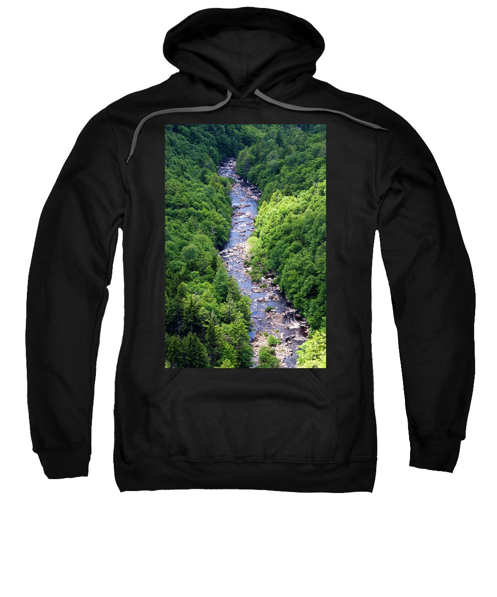 Blackwater Sweatshirt featuring the photograph Blackwater Canyon #3 by Kevin Gladwell