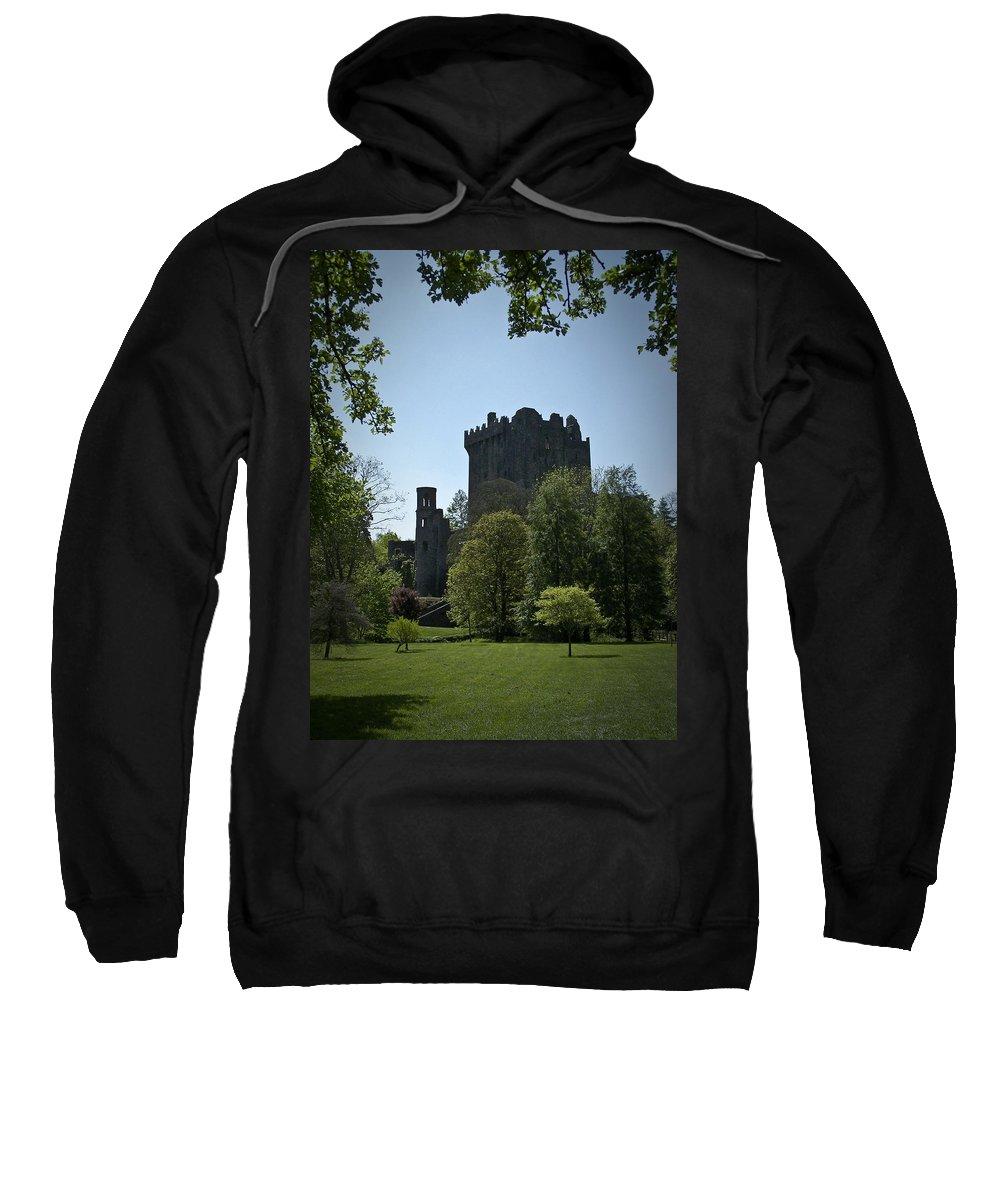 Irish Sweatshirt featuring the photograph Blarney Castle Ireland by Teresa Mucha