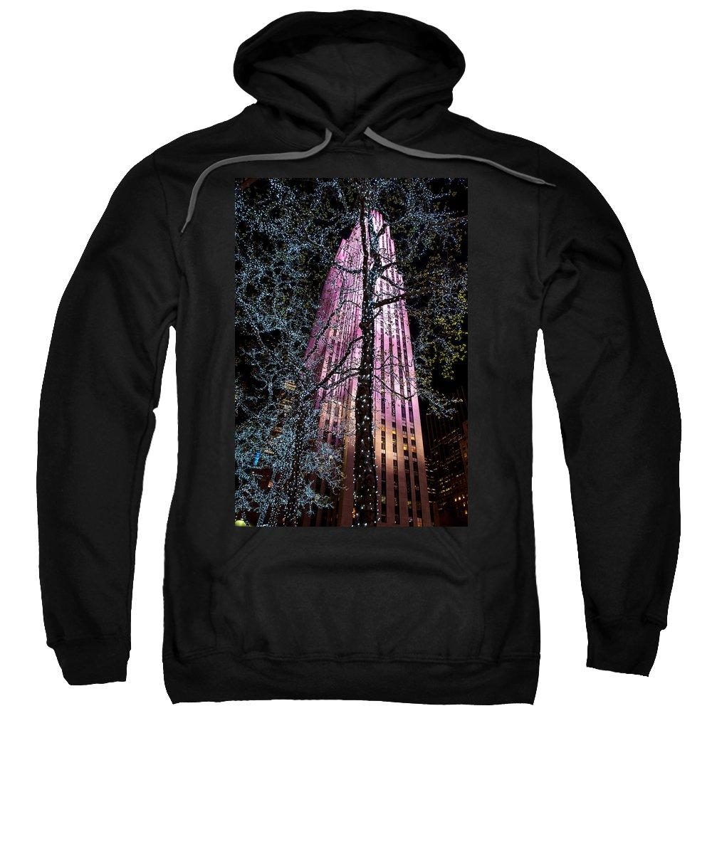 New York City Sweatshirt featuring the photograph Bling by Az Jackson