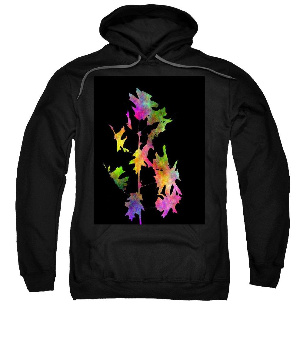 Fall Sweatshirt featuring the digital art Blowin In The Wind 4 by Tim Allen
