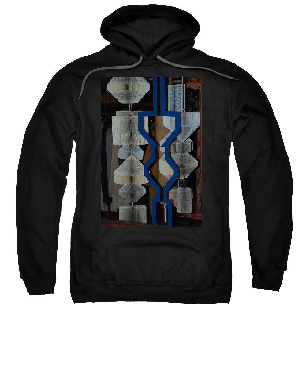 Window Sweatshirt featuring the photograph Blue And White by Rob Hans