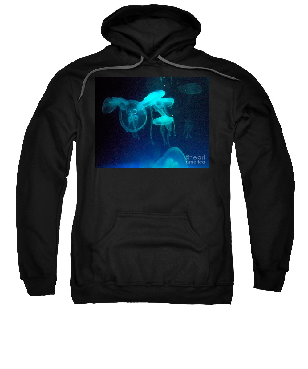 Florida Sweatshirt featuring the photograph Blue Monsters by Chris Andruskiewicz