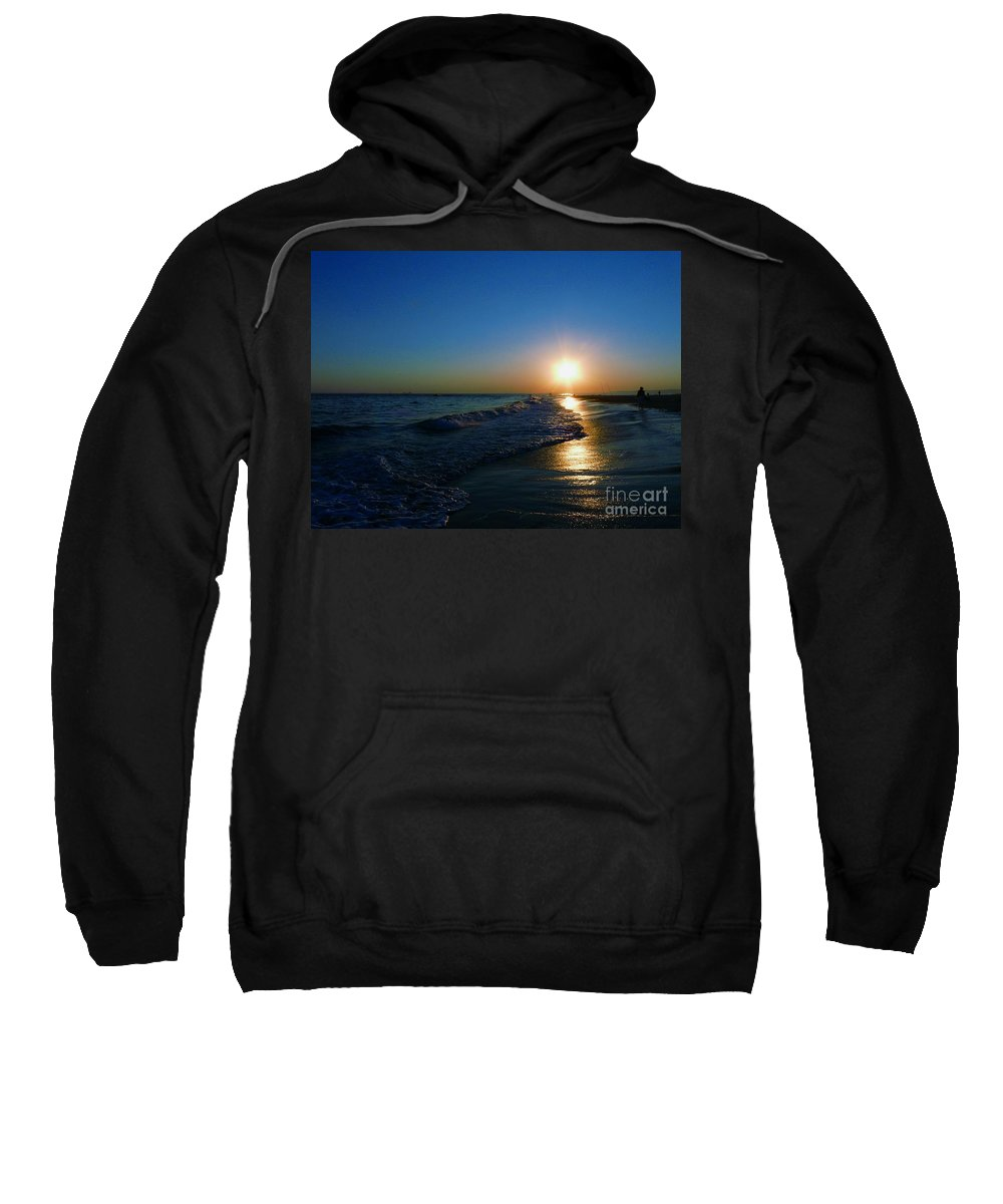 Landscape Sweatshirt featuring the photograph Blues In The Evening by Kendall Eutemey