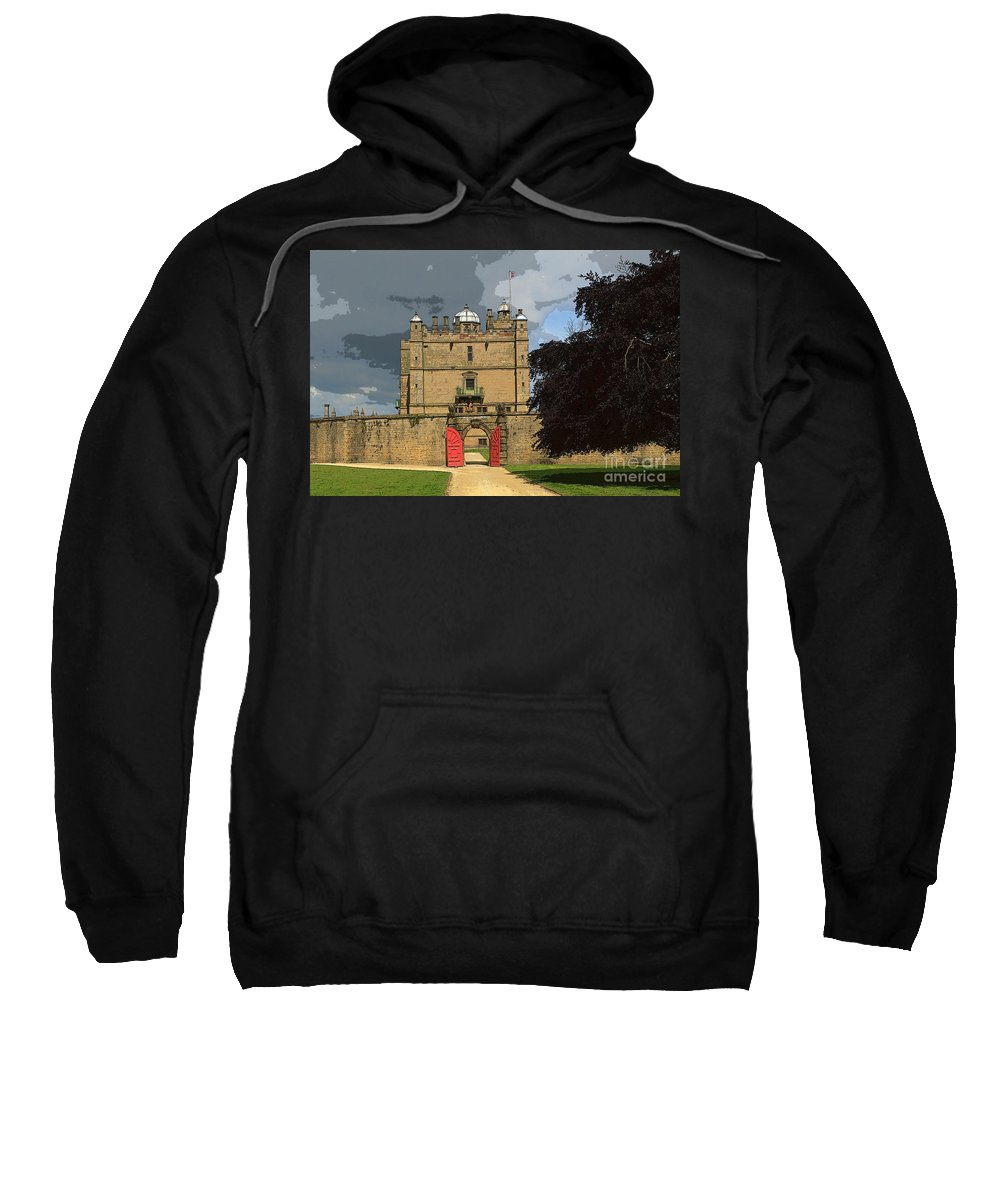Castle Sweatshirt featuring the photograph Bolsover Castle by Louise Heusinkveld