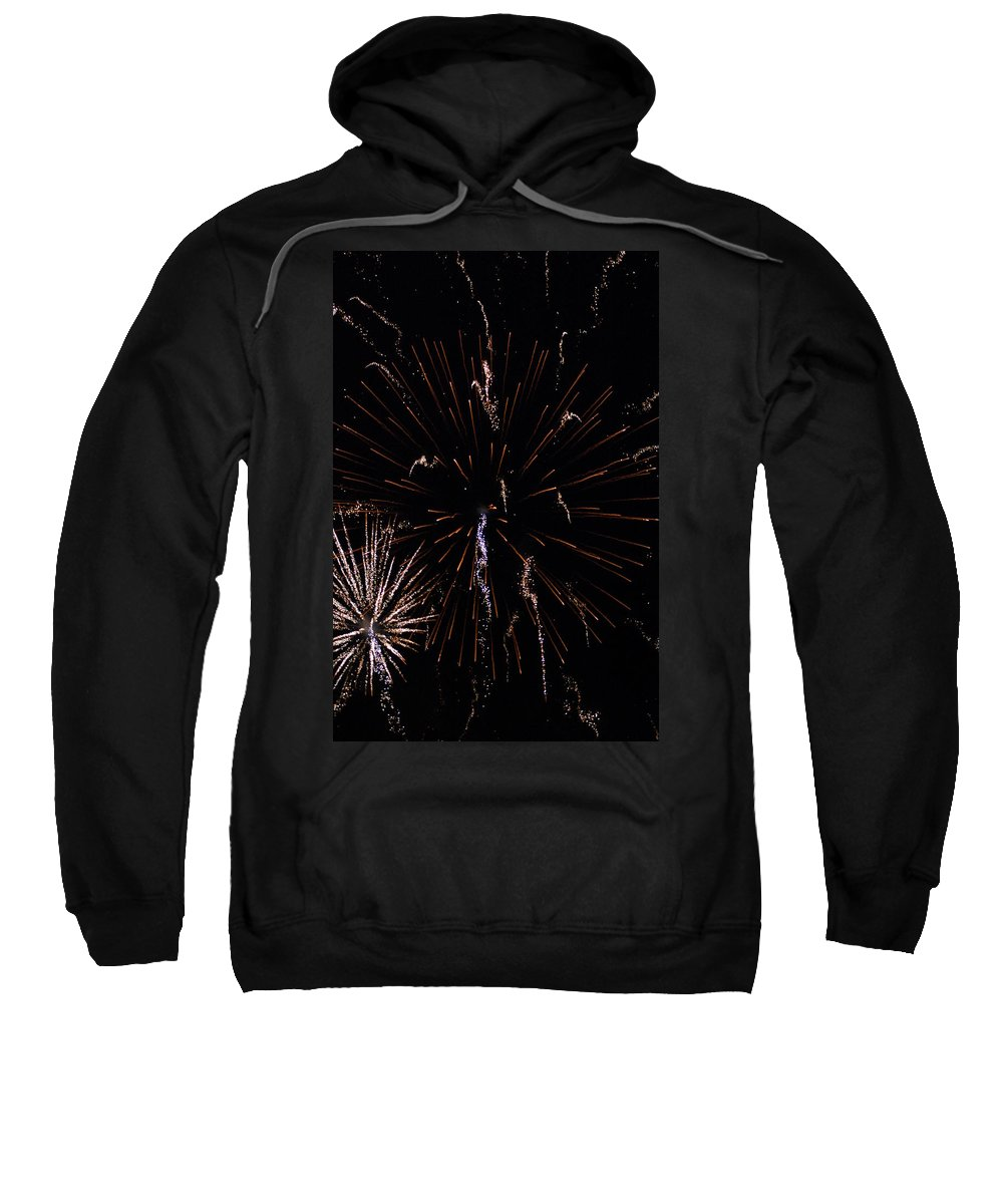 Firwworks Sweatshirt featuring the photograph Bombs2 by David Lane