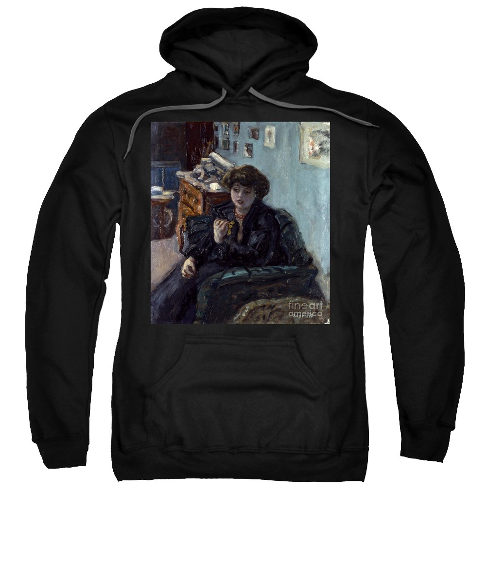 19th Century Sweatshirt featuring the photograph Bonnard: Lady, 19th C by Granger