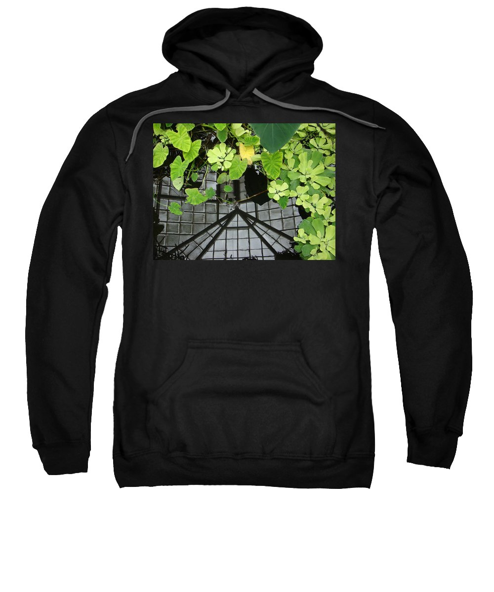 Plants Sweatshirt featuring the photograph Botanical Illusions by Donna Blackhall
