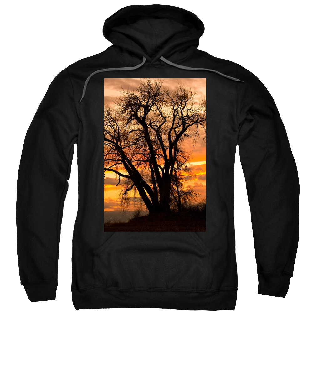 Sunsets Sweatshirt featuring the photograph Boulder County Sunset by James BO Insogna