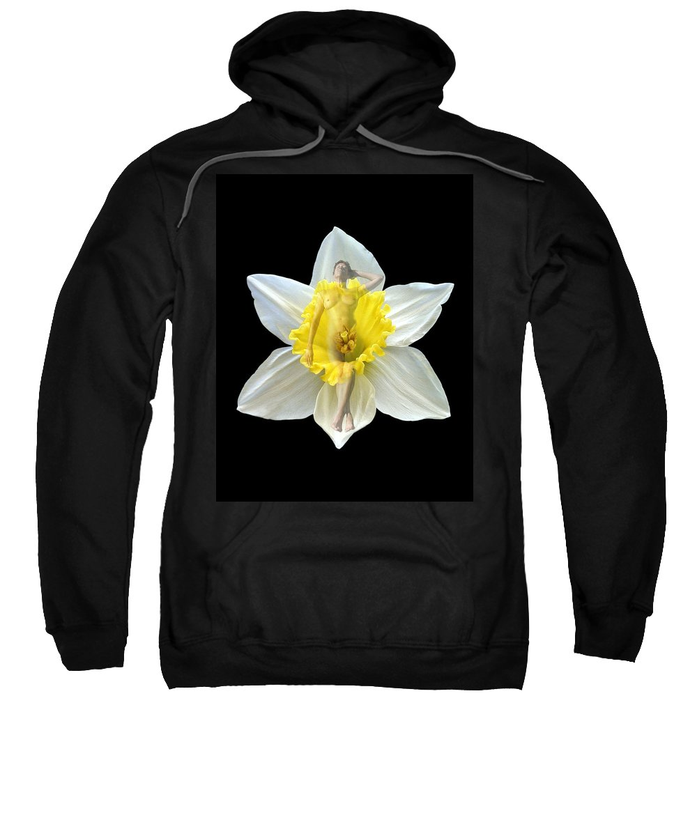 Nudes Sweatshirt featuring the photograph Bouquet by Kurt Van Wagner