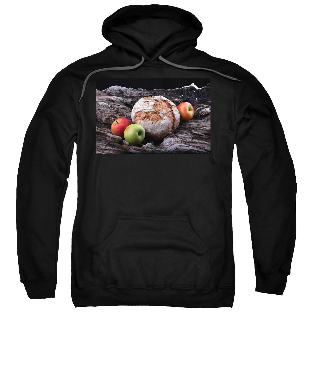 Bread Sweatshirt featuring the photograph Bread Landscape by Manfred Lutzius