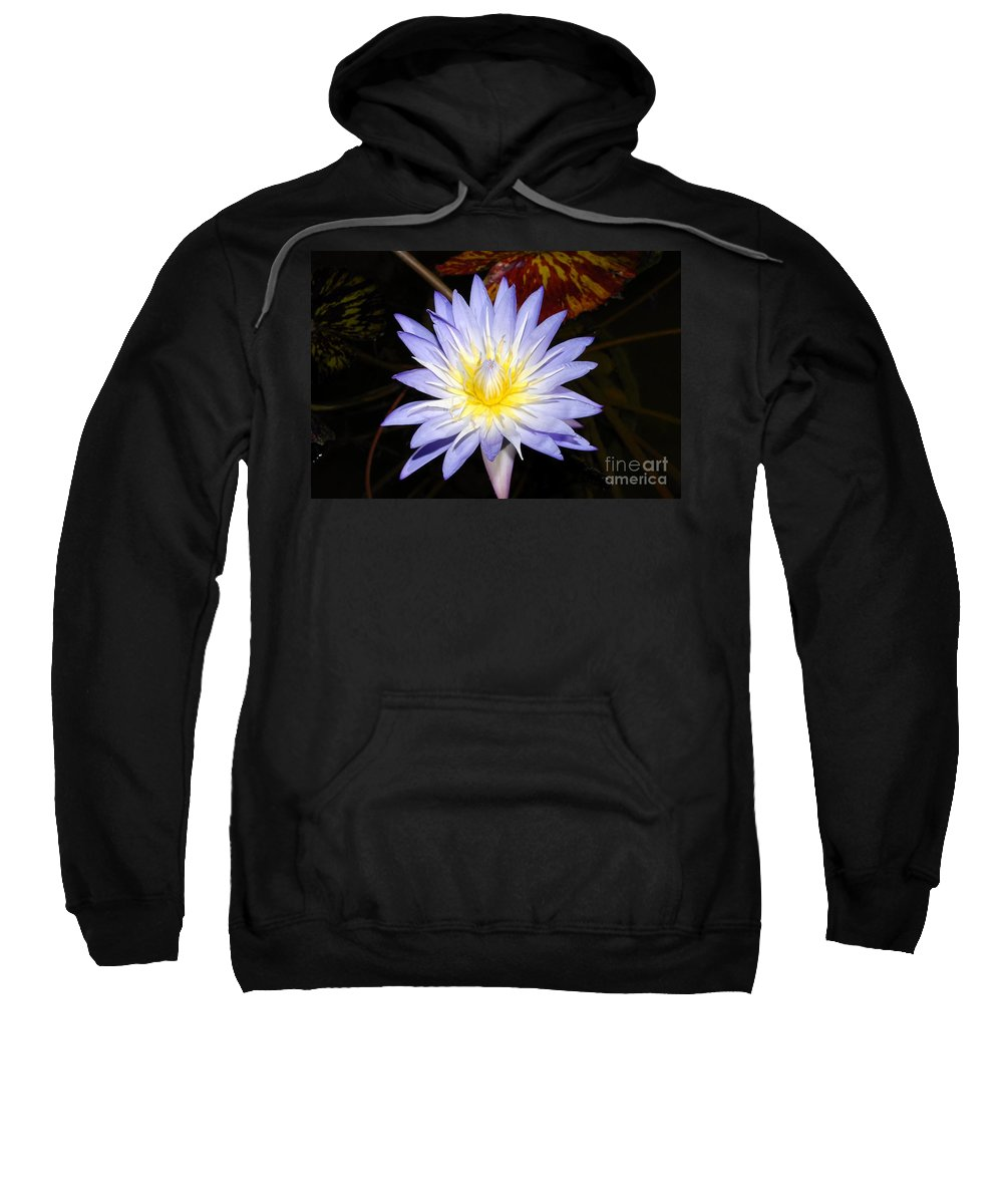 Lily Sweatshirt featuring the photograph Brilliant Beauty by David Lee Thompson