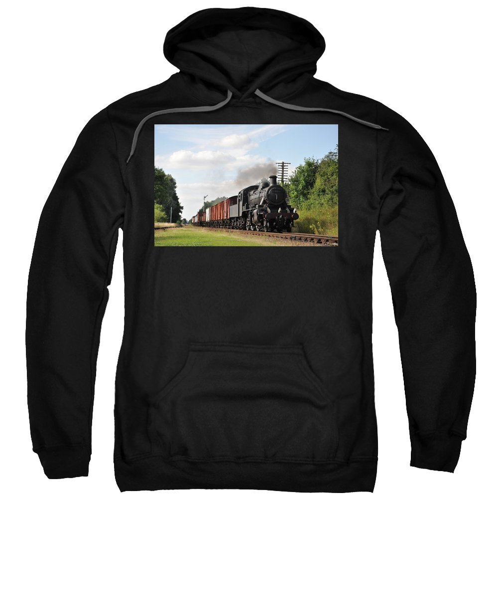 Sweatshirt featuring the photograph Brining In The Goods by Ian White