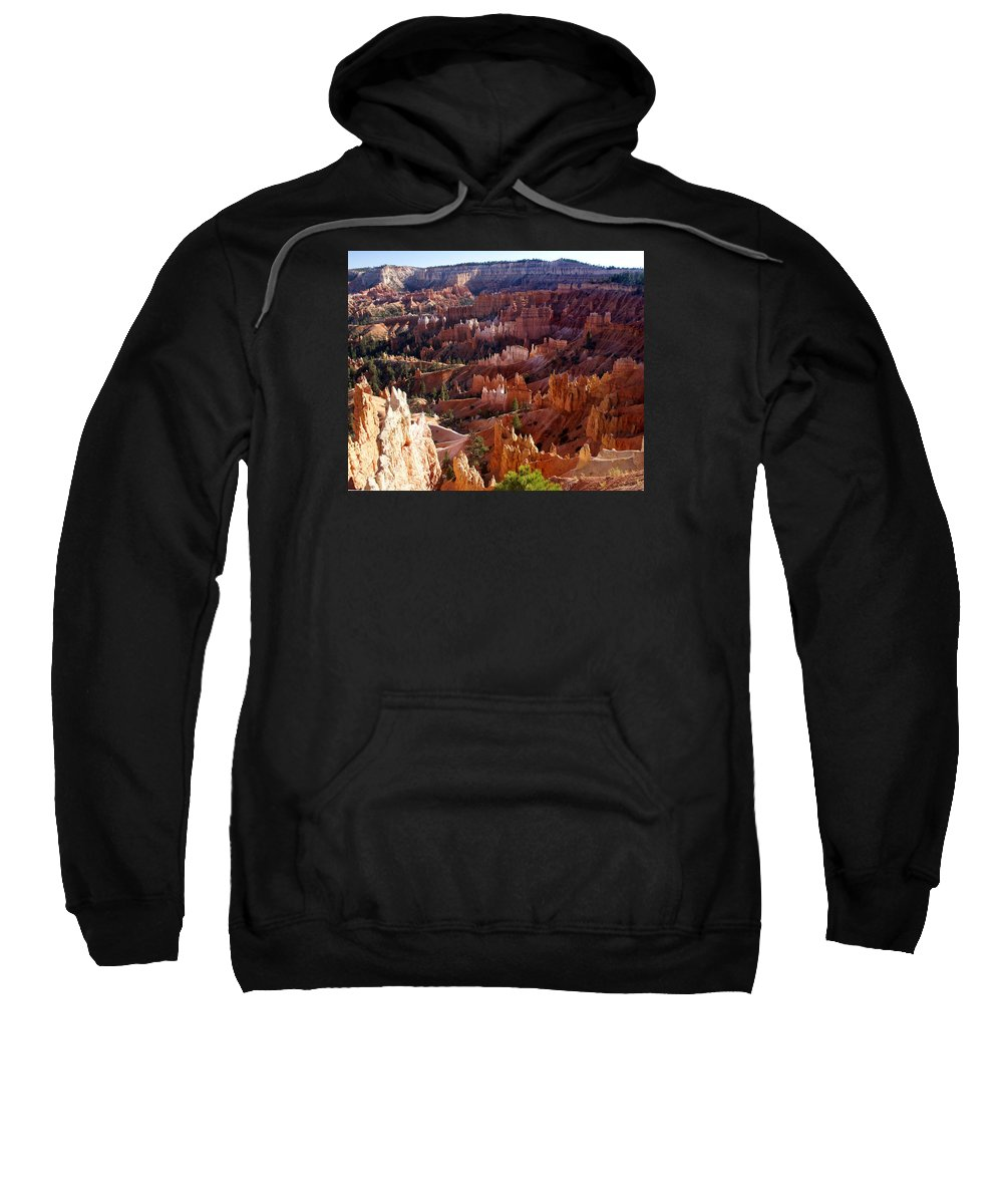 Bryce Sweatshirt featuring the photograph Bryce Canyon Hoodoos by Martin Massari