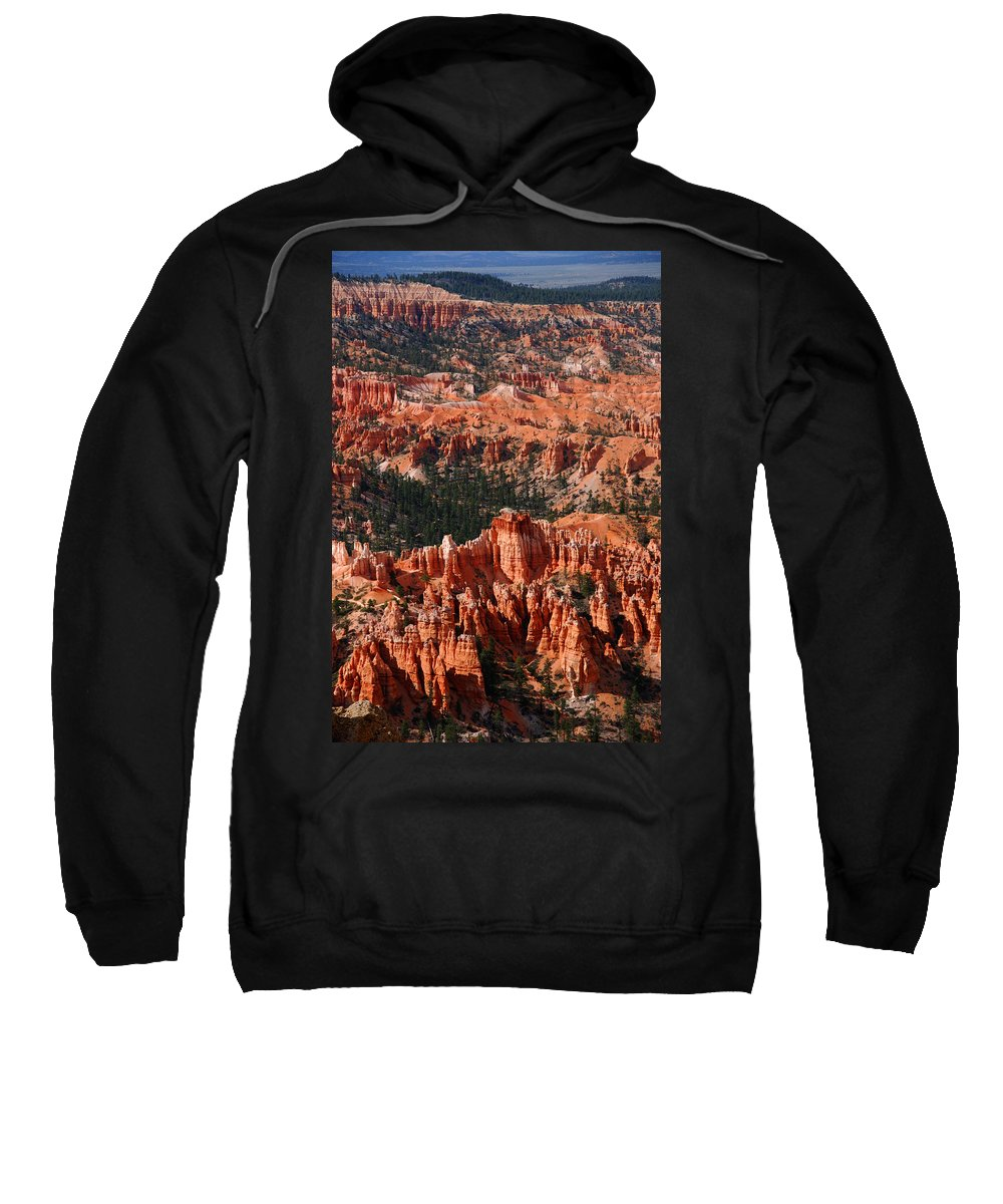 Photography Sweatshirt featuring the photograph Bryce Canyon Vertical by Susanne Van Hulst