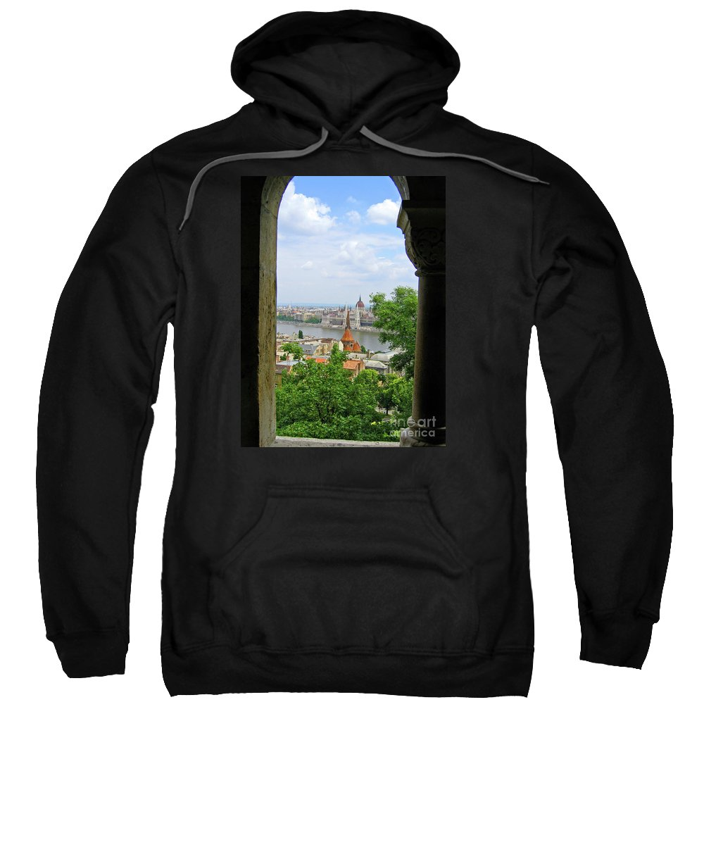 Budapest Sweatshirt featuring the photograph Budapest by Ann Horn