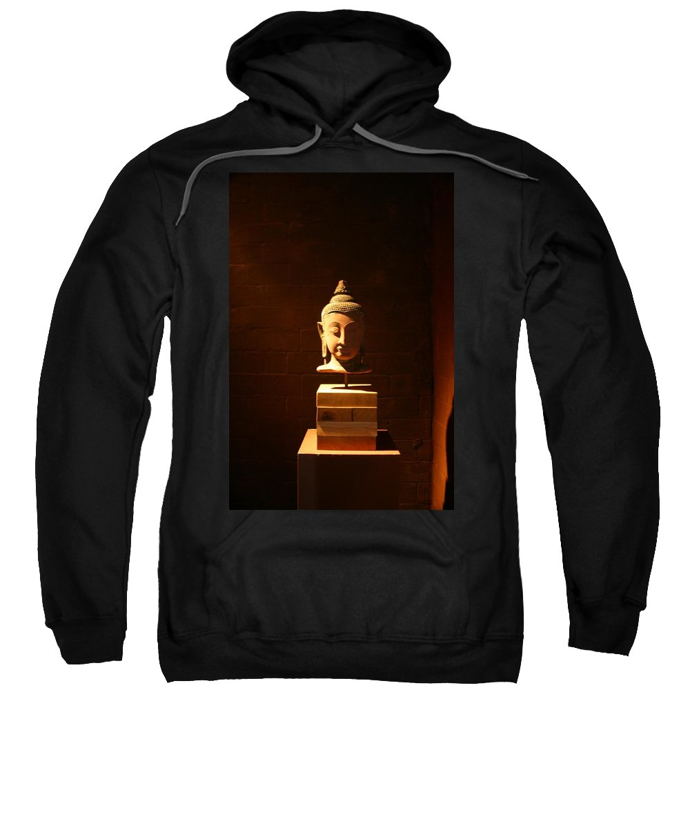 Buddhism Sweatshirt featuring the photograph Buddhism In Belgium by Minaz Jantz