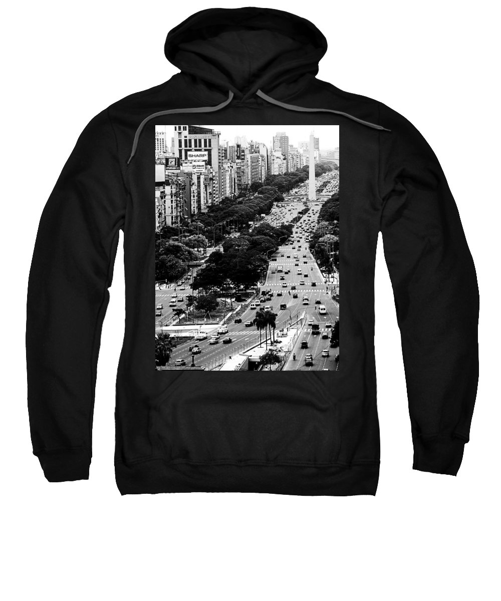 Argentina Sweatshirt featuring the photograph Buenos Aires by Osvaldo Hamer