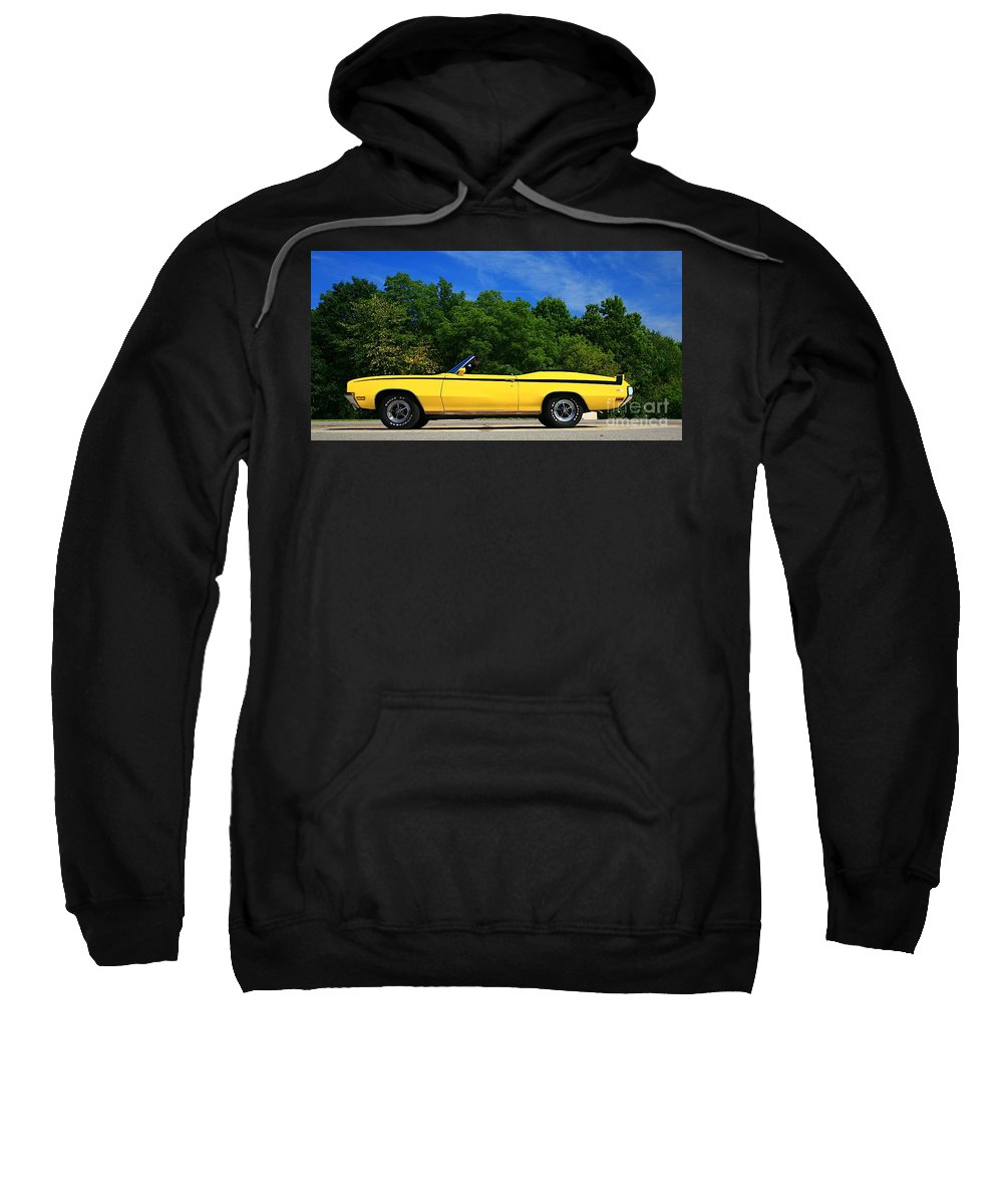 Car Sweatshirt featuring the photograph Buick Gsx by Robert Pearson