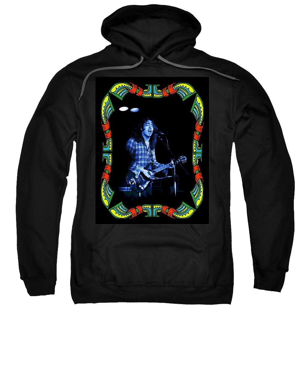Rock Musicians Sweatshirt featuring the photograph Bullfrog Blues In Kent by Ben Upham