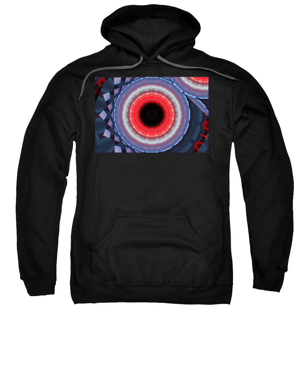James Smullins Sweatshirt featuring the photograph Bullseye by James Smullins