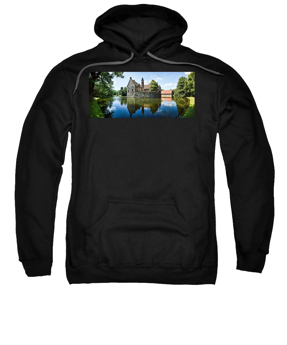 Burg Vischering Sweatshirt featuring the photograph Burg Vischering by Dave Bowman
