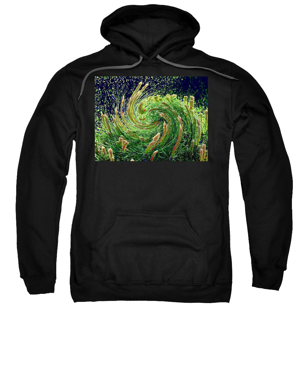 Pine Sweatshirt featuring the photograph Bush In Transition by Ian MacDonald