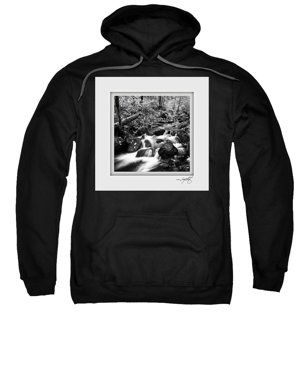 Columbia Gorge Sweatshirt featuring the photograph Butte Creek by Ingrid Smith-Johnsen