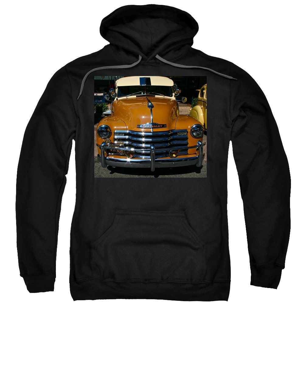 Photograph Of Chevrolet Sweatshirt featuring the photograph Butterscotch by Gwyn Newcombe