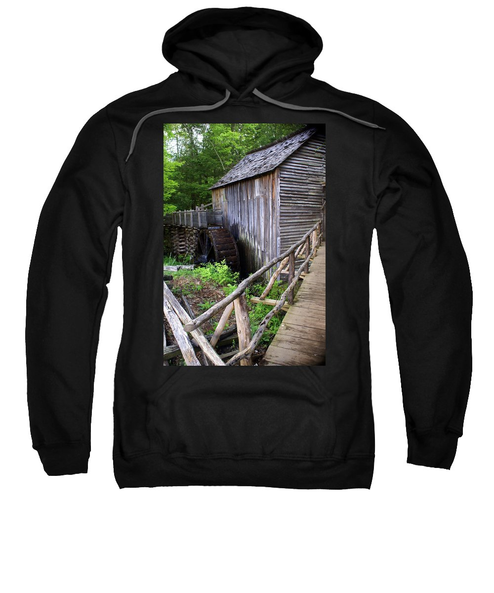 Cable Mill Sweatshirt featuring the photograph Cable Mill 3 by Marty Koch