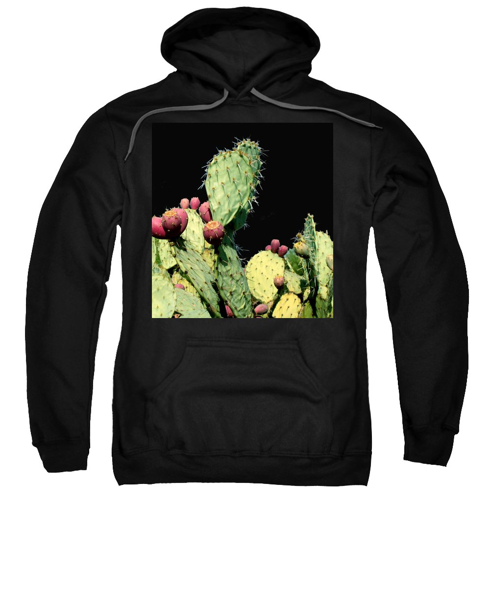 Cactus Sweatshirt featuring the photograph Cactus Two by Wayne Potrafka