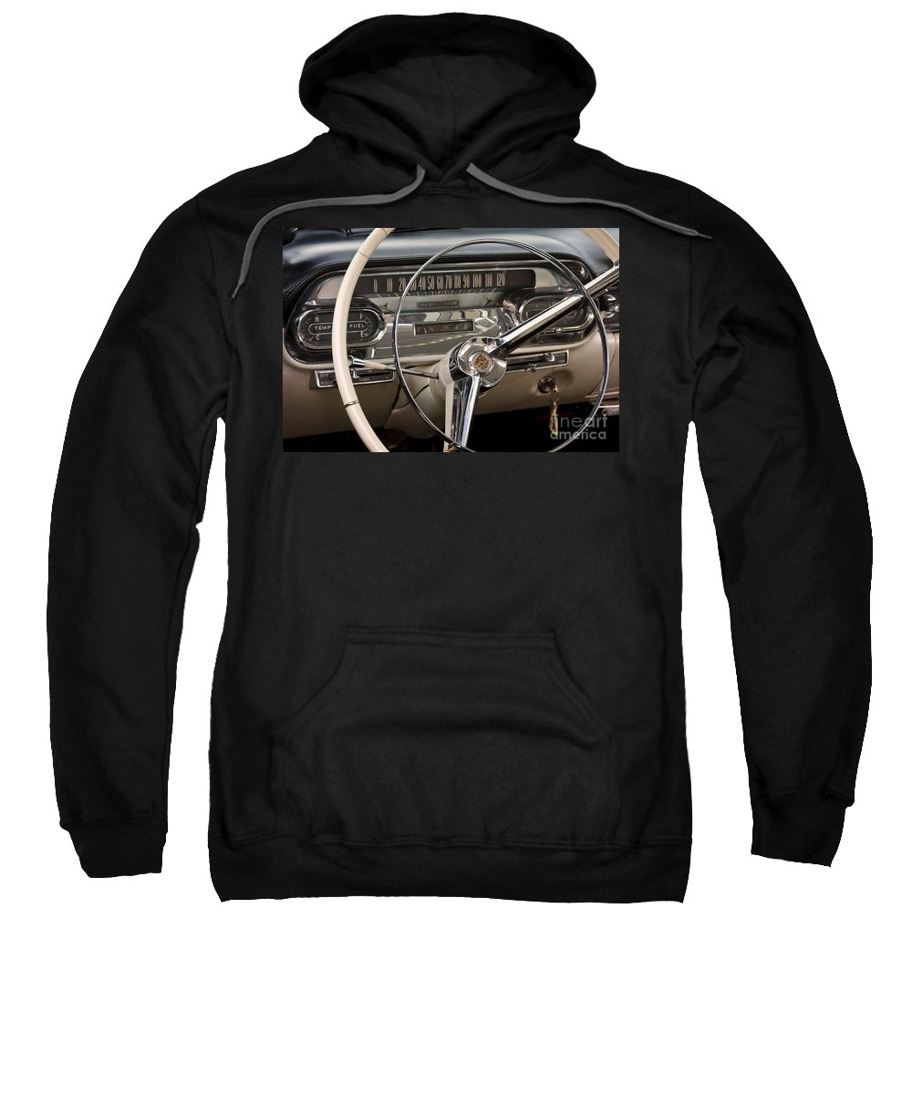 Classic Sweatshirt featuring the photograph Cadillac Dash by Dennis Hedberg