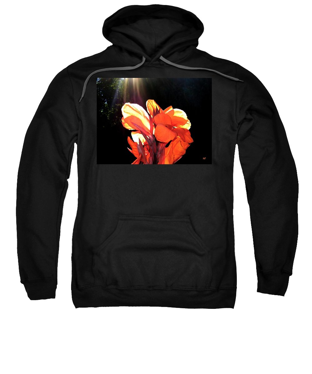 Canna Lily Sweatshirt featuring the photograph Canna Lily by Will Borden