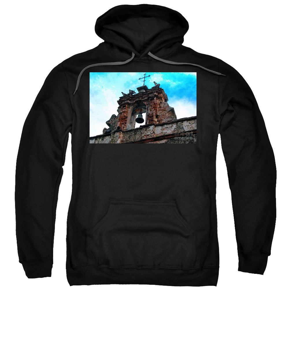 San Juan Sweatshirt featuring the photograph Capilla De Cristo  by Debbi Granruth