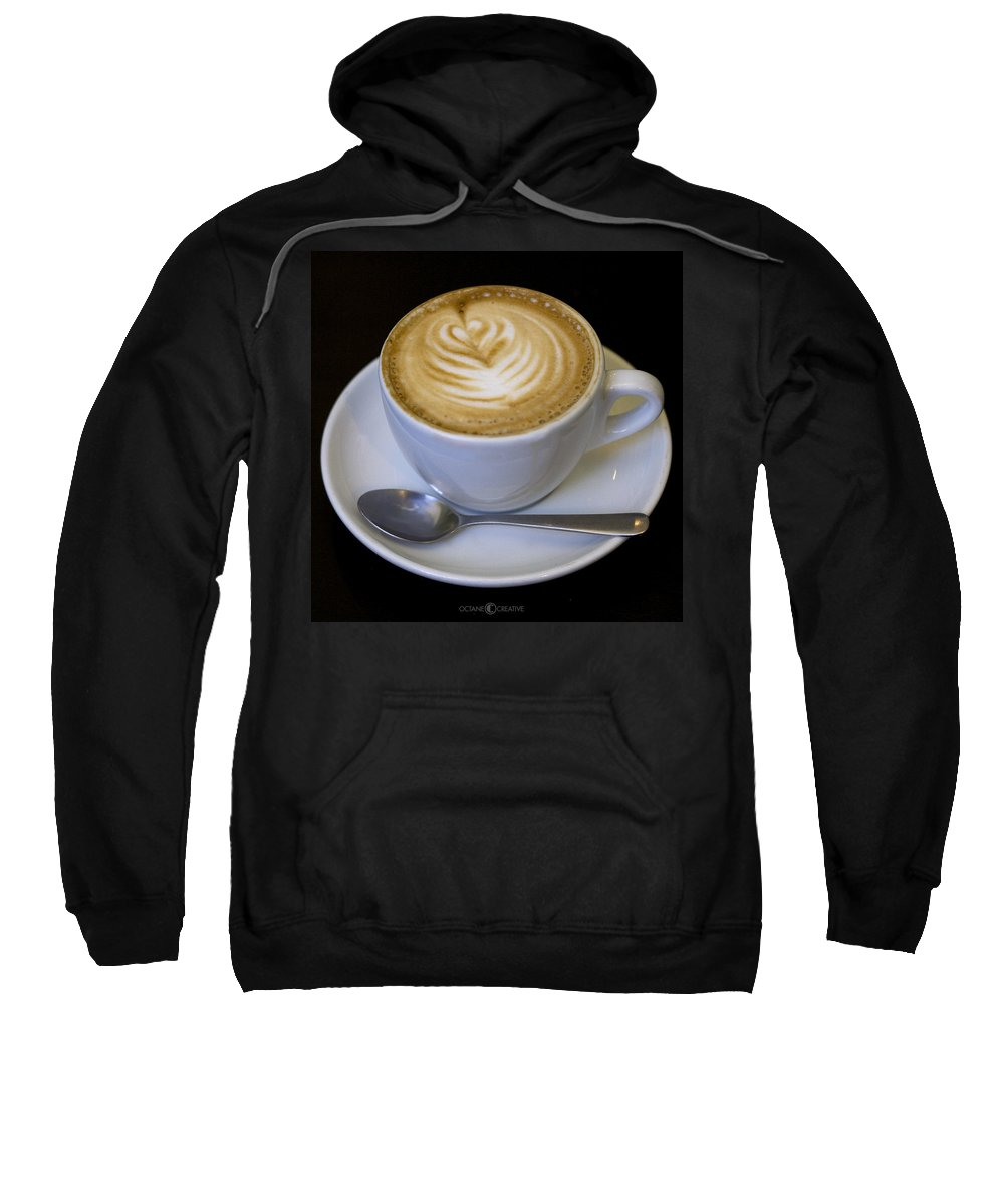 Coffee Sweatshirt featuring the photograph Cappuccino by Tim Nyberg