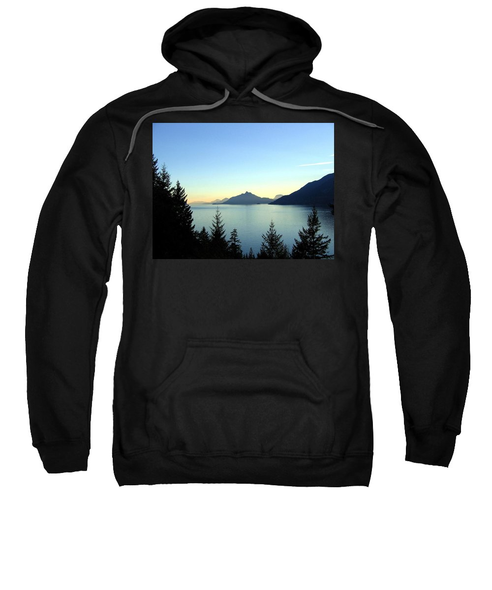 Howe Sound Sweatshirt featuring the photograph Captivating Howe Sound by Will Borden