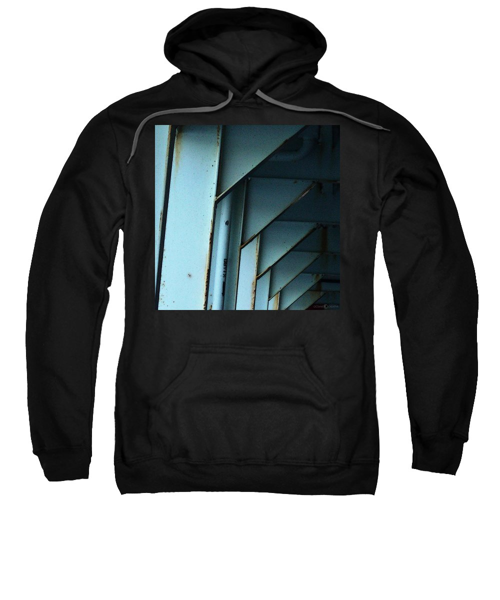 Ferry Sweatshirt featuring the photograph Car Ferry by Tim Nyberg