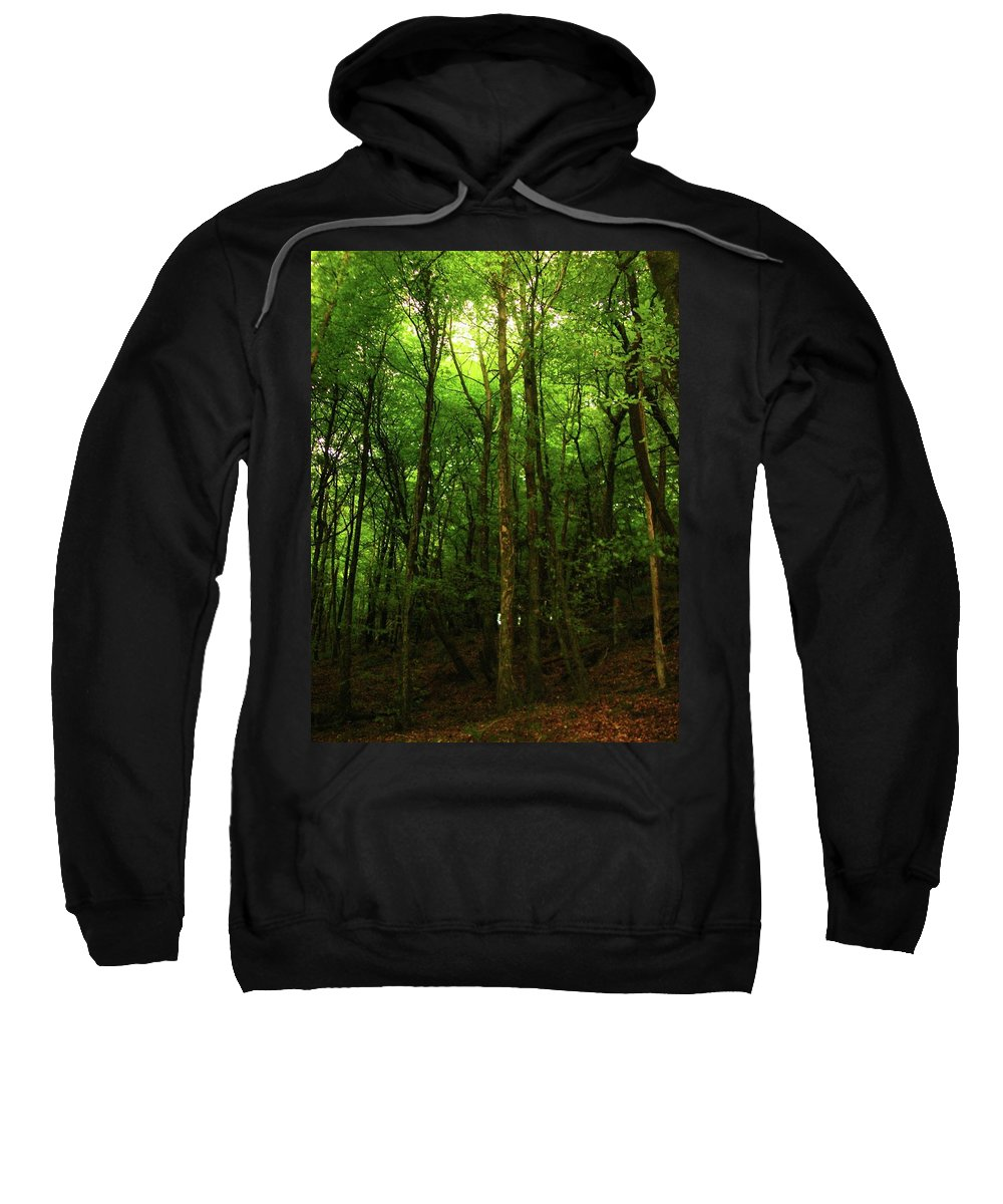 Landscape Sweatshirt featuring the photograph Carins Hill Co Sligo Ireland by Louise Macarthur Art and Photography