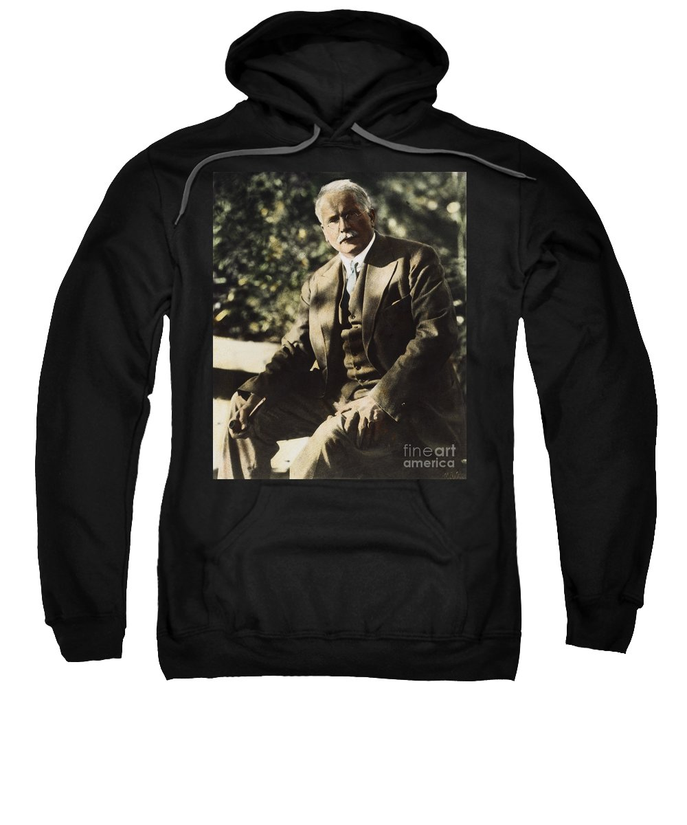 20th Century Sweatshirt featuring the photograph Carl G. Jung by Granger