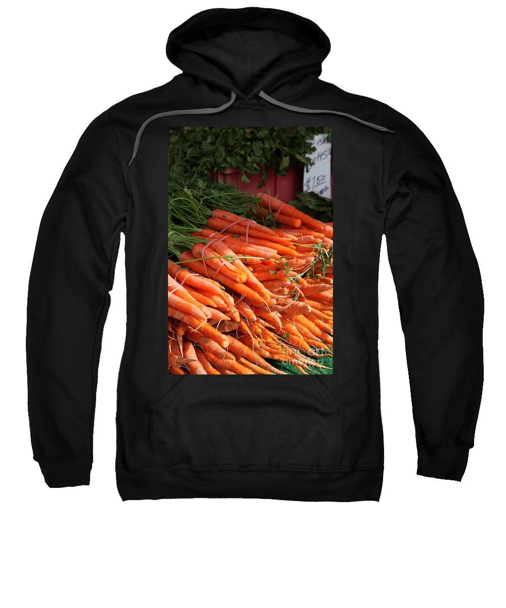 Stilllife Sweatshirt featuring the photograph Carrot Bounty by Portraits By NC