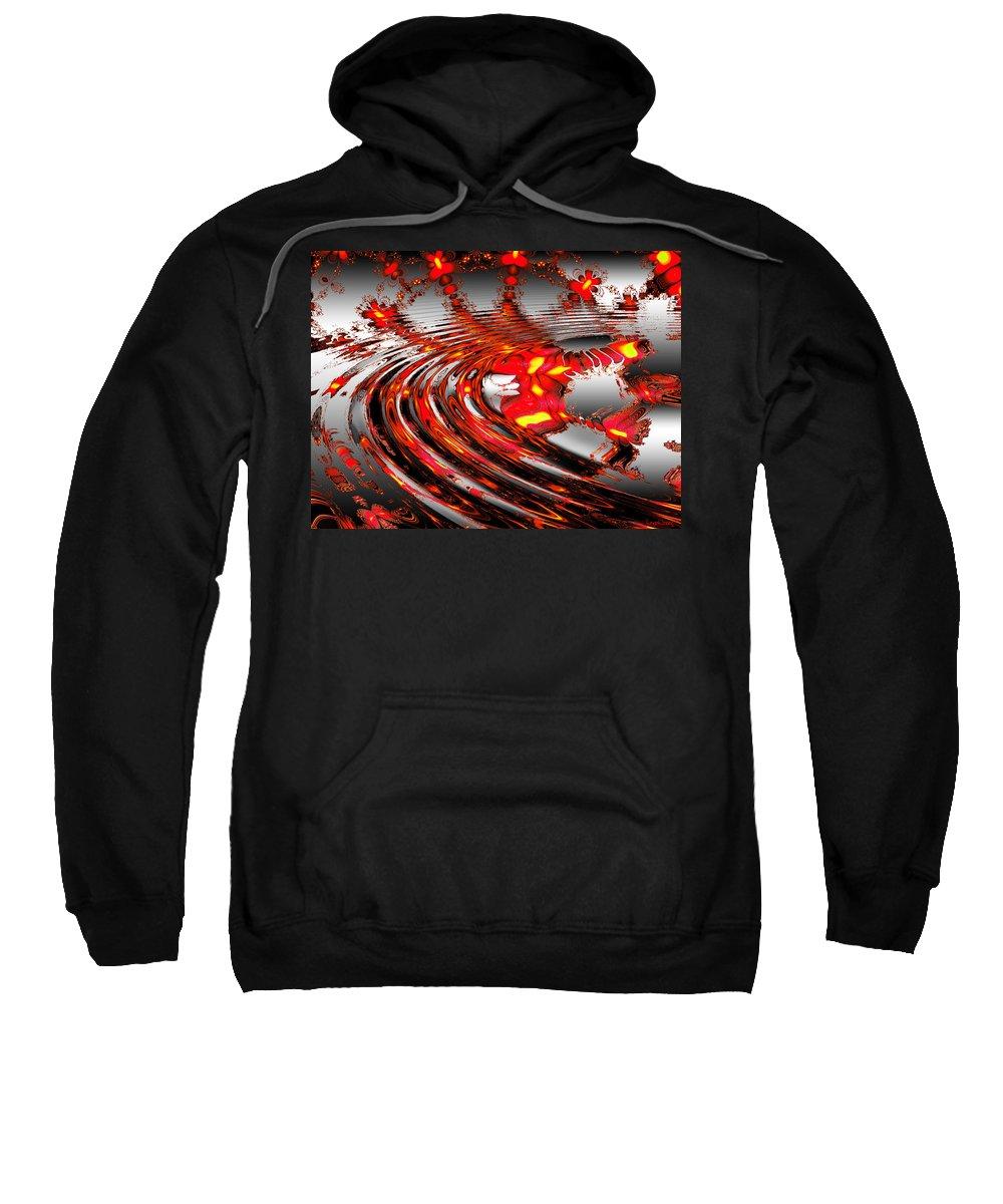 Star Sweatshirt featuring the digital art Cassie's World by Robert Orinski