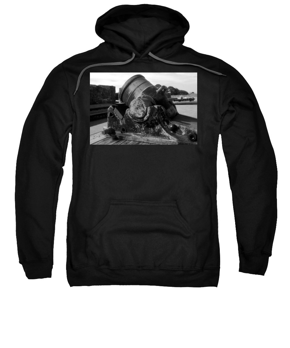 Cannon Sweatshirt featuring the photograph Castillo Cannon by David Lee Thompson